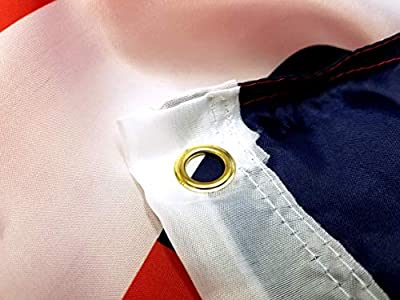 3x5 American Flag | 3x5 US Flag | Vivid Color | USA Flag 3x5 | Double Stitched America Flag 3x5 with Brass Grommets | US Flags American Flags for Outside | US 3x5 flag | US Flag 3x5 | Outdoor Flag