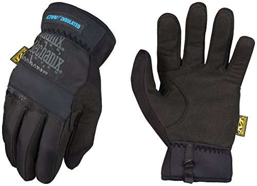 Glove Fast Fit 008 (Mechanix Wear - FastFit Insulated Winter Touch Screen Gloves (Small, Black))
