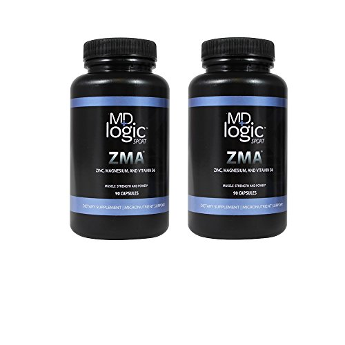 MD Logic Sport ZMA Twinpack 1ct 2x90 Caps