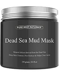 Pure Body Naturals Dead Sea Mud Mask, 8.8-ounce