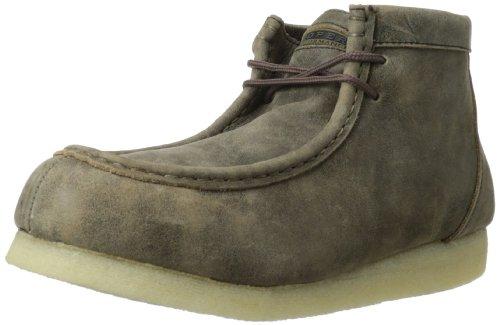 ROPER Men's Gum Sticker Work Shoe, Oiled Brown, 12 M US ()