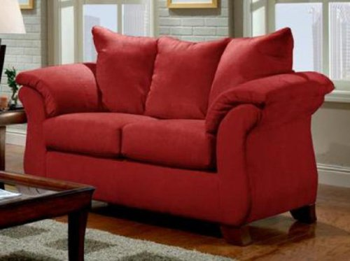UPC 765857333496, Chelsea Home Furniture Armstrong Loveseat, Sensations Red Brick
