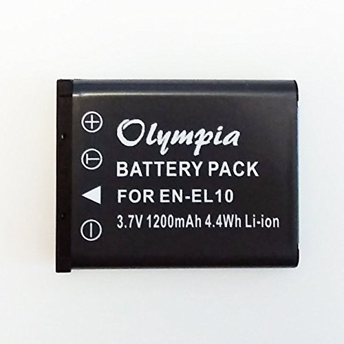 Replacement Olympus VH-210 Battery for Digital Camera - (1200mAh, 3.7V) Li-Ion Rechargeable Battery -