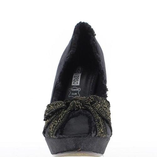 ChaussMoi - Zapatos de Vestir de lona Mujer