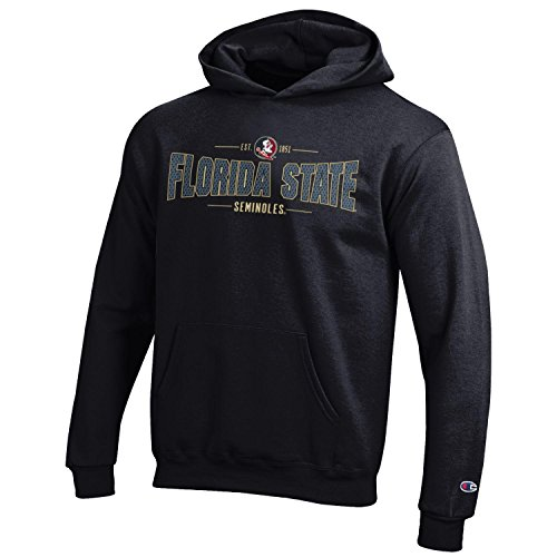 Champion NCAA Youth Long Sleeve Fleece Hoodie Boy