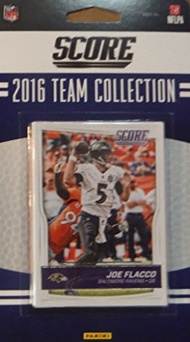 - Baltimore Ravens 2016 Score EXCLUSIVE Factory Sealed Team Set with Joe Flacco, Steve Smith, Terrell Suggs, Rookie Cards plus