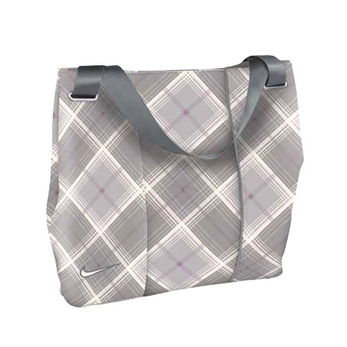 Nike Brassie Bucket Bag, Sail/White Tartan, Outdoor Stuffs
