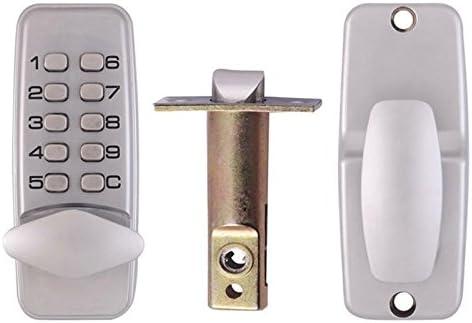 con contrase/ña digital desbloqueada Bloqueo antirrobo de huellas dactilares para el hogar con cerradura inteligente de Xueliee sin llave