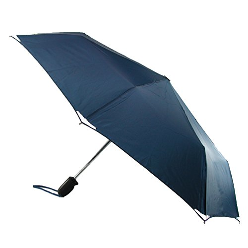 shedrain-walksafe-automatic-open-and-close-compact-umbrellanew-navyone-size
