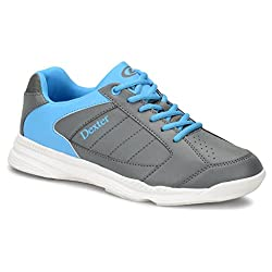 Dexter Boys Ricky Iv Jr Bowling Shoes- Greyblue, 4