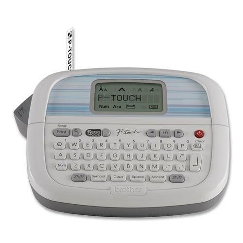 PT-90 Brother PT-90 Label Maker - 0.30 in/s Mono - Label - 203 dpi Vertical Printing by BROTHER