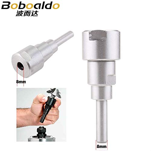1 piece 1PC 8mm shank bits Router Collet Extension Engraving machine extension ()