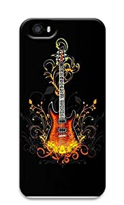 iPhone 5 5S Case 3D Guitar 3D Custom iPhone 5 5S Case Cover