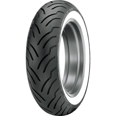 140/90B-16 (77H) Dunlop American Elite Rear Motorcycle Tire Wide White Wall for Victory Judge 2013-2014 by Dunlop Tires (Image #1)