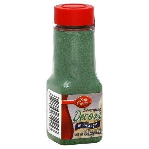 Betty Crocker Sugar Crystal Green 2.25 Oz