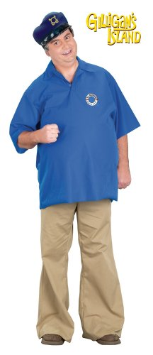 Gilligan's Island Captain Costume (Adult Gilligan's Island Skipper Costume)