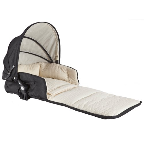 Single Tri-Mode Husssh Bassinet Color: Hot Chocolate