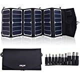Best Solar Laptop Chargers - TOPDC 39W Solar Panel Charger Portable Waterproof SunPower Review