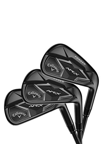 Callaway Golf 2019 Apex Smoke (Set of 7 Clubs: 4-9 Iron, PW, Right Hand, Steel, Stiff Flex) (Best Forged Irons 2019)