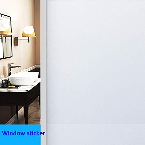 - JIAOHJ Window Sticker,no Glue Static Glass Film,Opaque Office Bathroom Window Matte Privacy Protection Sticker-b 50x1100cm(20x433inch)