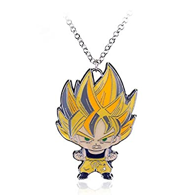 Collar Hombre Dragon Ball Llavero Metal Son Goku Super ...