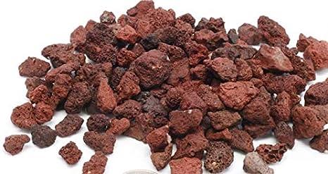 GYD Saco Piedra volcánica roja 10-25 mm: Amazon.es: Jardín