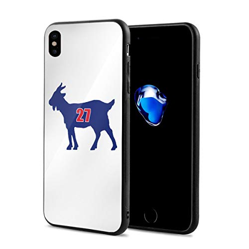 iPhone X/XS Case, Los Angeles Trout Goat Ultra Thin Hard Plastic PC Cover Bumper Anti-Scratch Full Body Drop Protection Phone Case Compatible with iPhone X/XS