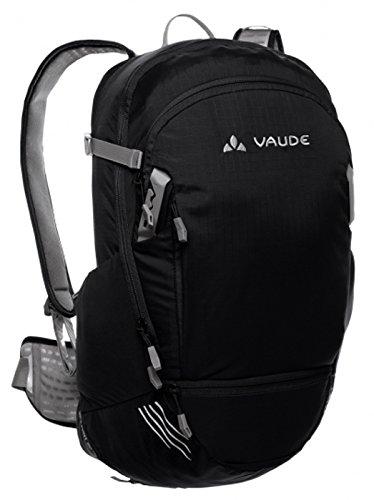 Vaude Splash 20+5 Black (schwarz) incl. 3,0 Liter Trinksystem Modell 2015 Fahrradrucksack