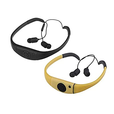 Docooler® SSA Wireless Waterproof Bluetooth Sports Earphone Headset Headphone for Cellphone PC Swimming Skating