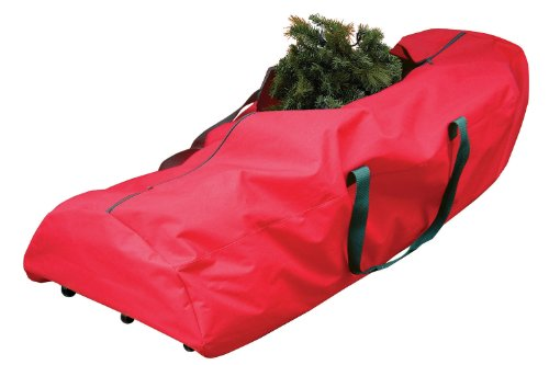 Dyno Seasonal Solutions St. Nick's Choice Artificial Tree Rolling Storage Bag Fabric, 9-Feet by Dyno Seasonal Solutions