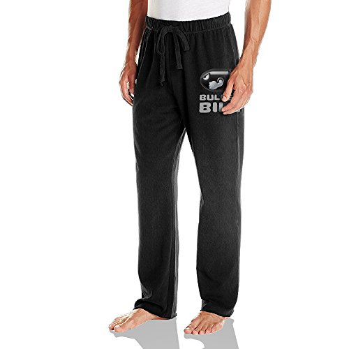 [Caryonom Men's Bullet Bill Toy Running Trousers Black 3X] (Bus Driver Uniform Costume)