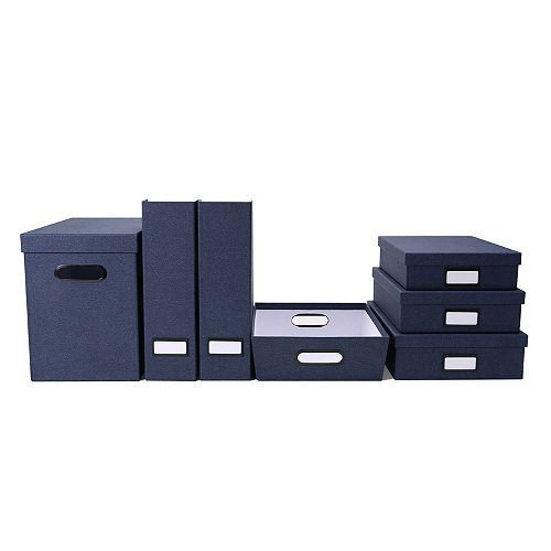 7 - in - 1 European Office Collection (Blue)