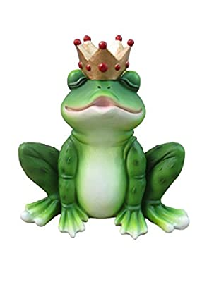 The Frog Prince Collectible Fairy Tale Figurine And Romantic Gift By DWK