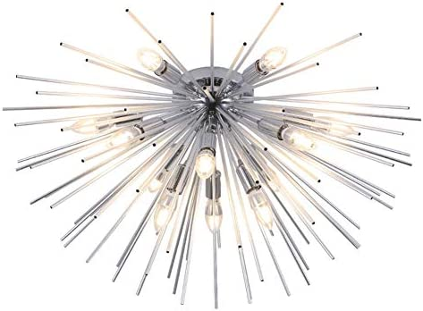 LukLoy Dandelion Firework Chandelier Ceiling Lighting Fixtures