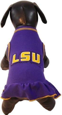 NCAA Old Dominion Monarchs Cheerleader Dog Dress Team Color, X-Large