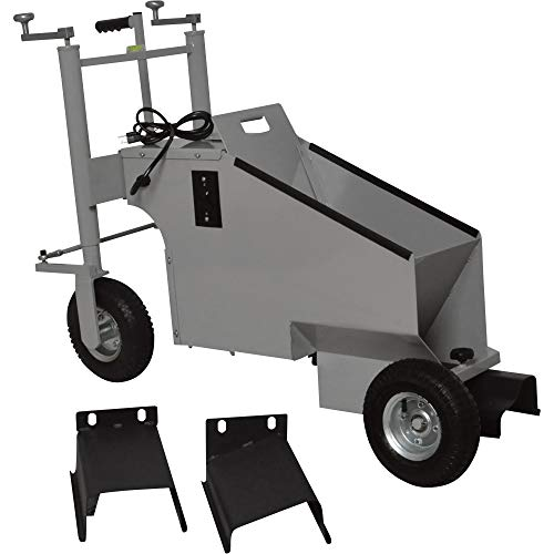 Photo Klutch Electric Walk-Behind Concrete Curb Machine - 5.8in. Working Width, 3/4 HP