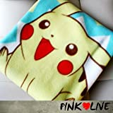 Pokemon Pikachu Mini small size camp Bed car living room Sheet Fleece Blanket Throw cover small Size gift for kid