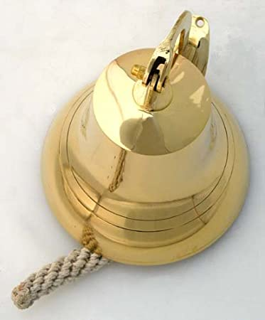 Nautical Bells IOTC BR 1844 6 Brass Ship Bell