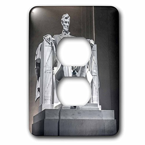 3dRose lsp_256708_6 President Lincoln Memorial in Washington Dc Plug Outlet Cover, Mixed (Best Outlets In Washington Dc)