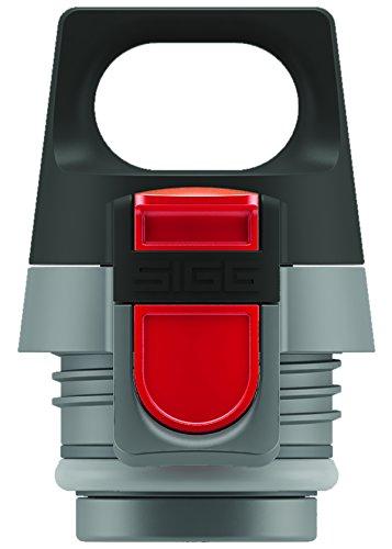 Sigg Thermoflasche Hot und Cold ONE Top Grey, Grau/Schwarz, 8540.2000000000007