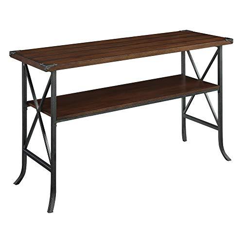- Convenience Concepts Brookline Console Table, Dark Walnut