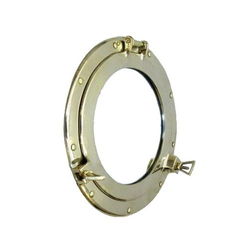 Porthole Cover - Firefly Home Collection Porthole Cover with Mirror, 11
