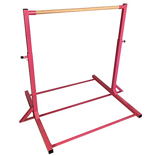 The Beam Store Gymnastics Mini High Bar without Extension Legs, Pink