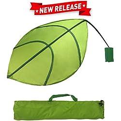 EasyGoProducts Kids Leaf Wall Decoration – Jungle Nursery Decor - Baby and Kids Room Decoration - Ikea Lova Leaf