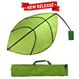 EasyGoProducts Kids Leaf Wall Decoration – Jungle Nursery Decor - Baby and Kids Room Decoration - Ikea Lova Leaf