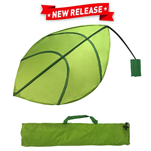 EasyGoProducts Kids Leaf Wall Decoration – Jungle Nursery Decor - Baby and Kids Room Decoration - Ikea Lova (Jungle Furniture)
