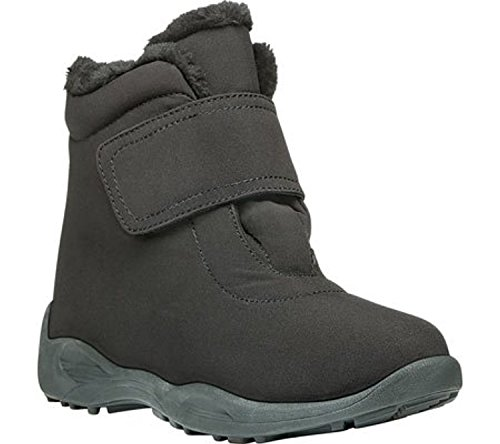 Strap Women's Black Nylon Boot Ankle Propet Madison t6xqw4