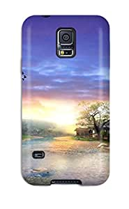 Premium Case For Galaxy S5- Eco Package - Retail Packaging - 4649442K61347386