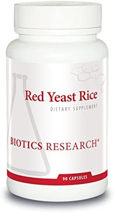 Biotics Research Red Yeast Rice Free of Mycotoxin Citrin RYR, 2400milli Cardiovascular Health, Monascus purpureus, Healthy Aging, Healthy Blood Lipid Levels, Weight Management, Dietary Staple. 90 Caps