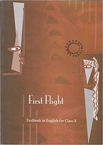 First Flight for Class - 10 Textbook in English - 1059